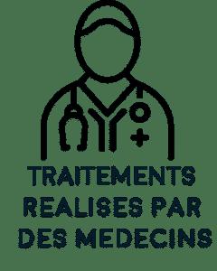Picto soins réalisés par médecins